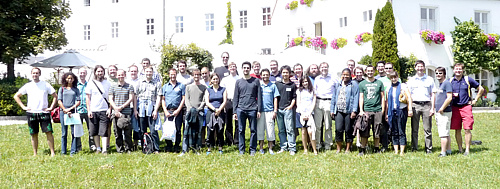 at the Summer School Cloud Computing organised by the Bayrisch Französisches Hochschulzentrum